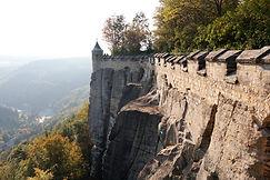 Mauerwerk Festung Königstein
