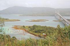 Sandbank Norwegen