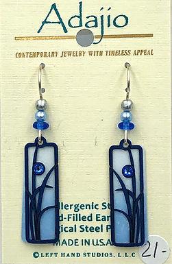 Adajio Blue 2 Earrings