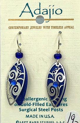 Adajio Blue 1 Earrings