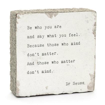 Dr. Seuss Quote Block