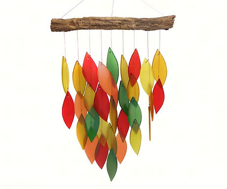 Fall Colors Wind Chime