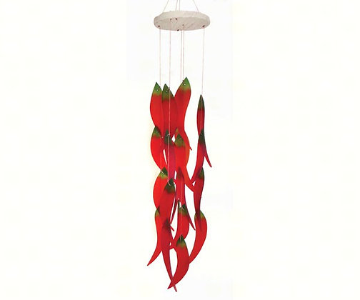Hot Chiles Wind Chime