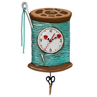 Thread and Needle Pendulum Clock