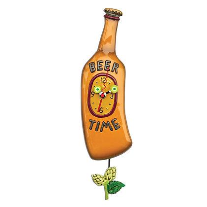 Beer Time Pendulum Clock