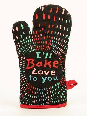 Bake Love Oven Mitt