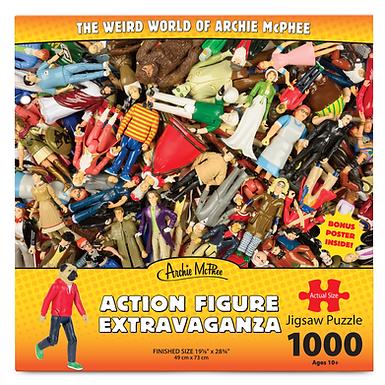 Action Figure Extravaganza 1000 pc. Puzzle