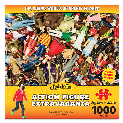 Action Figure Extravaganza 1000 pc. Puzzle