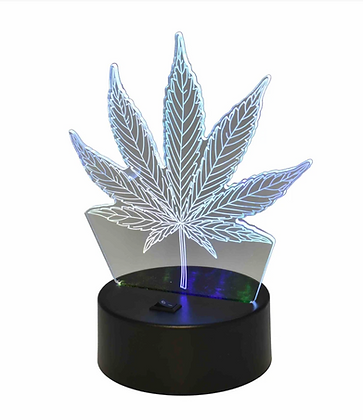 Cannabis Leaf Mood Light