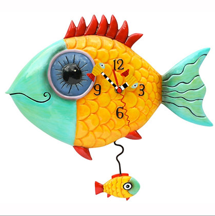 Fishes Pendulum Clock