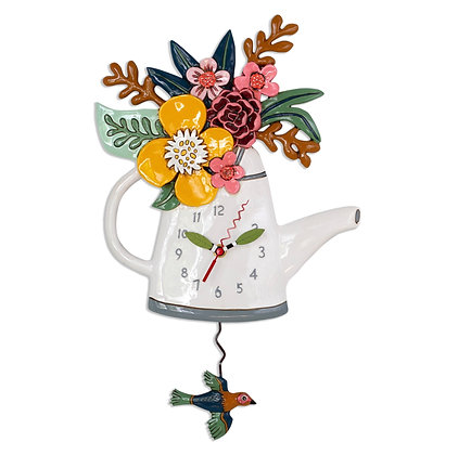 Watering Can Pendulum Clock