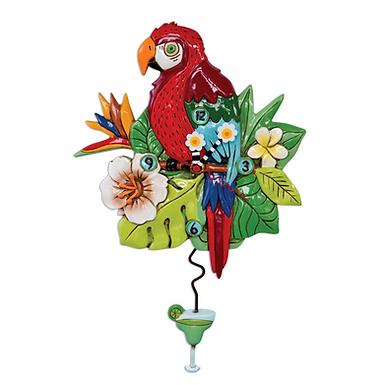 Parrot Pendulum Clock