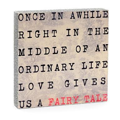 Fairy Tale Quote Block