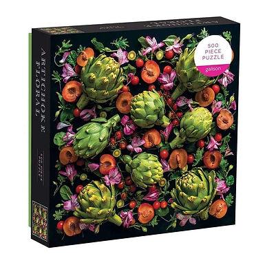 Artichoke Floral 500 pc. Puzzle