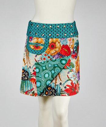 Reversible Snap Skirt by Apsara