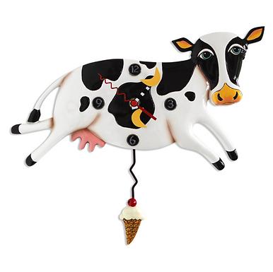 Cow Pendulum Clock