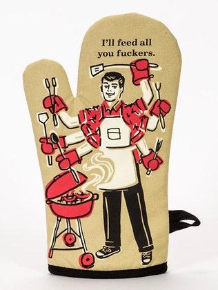 Feed All Oven Mitt