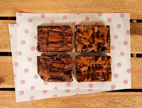 Biscoff Rocky Road and Brownie Mixed Box