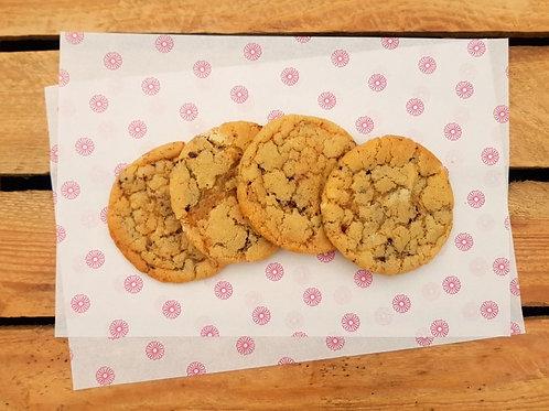 Vanilla Cookie with Dark and White Chocolate Chunks