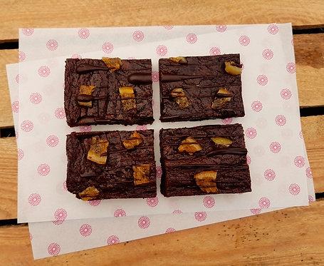 Triple Chocolate Orange Brownie