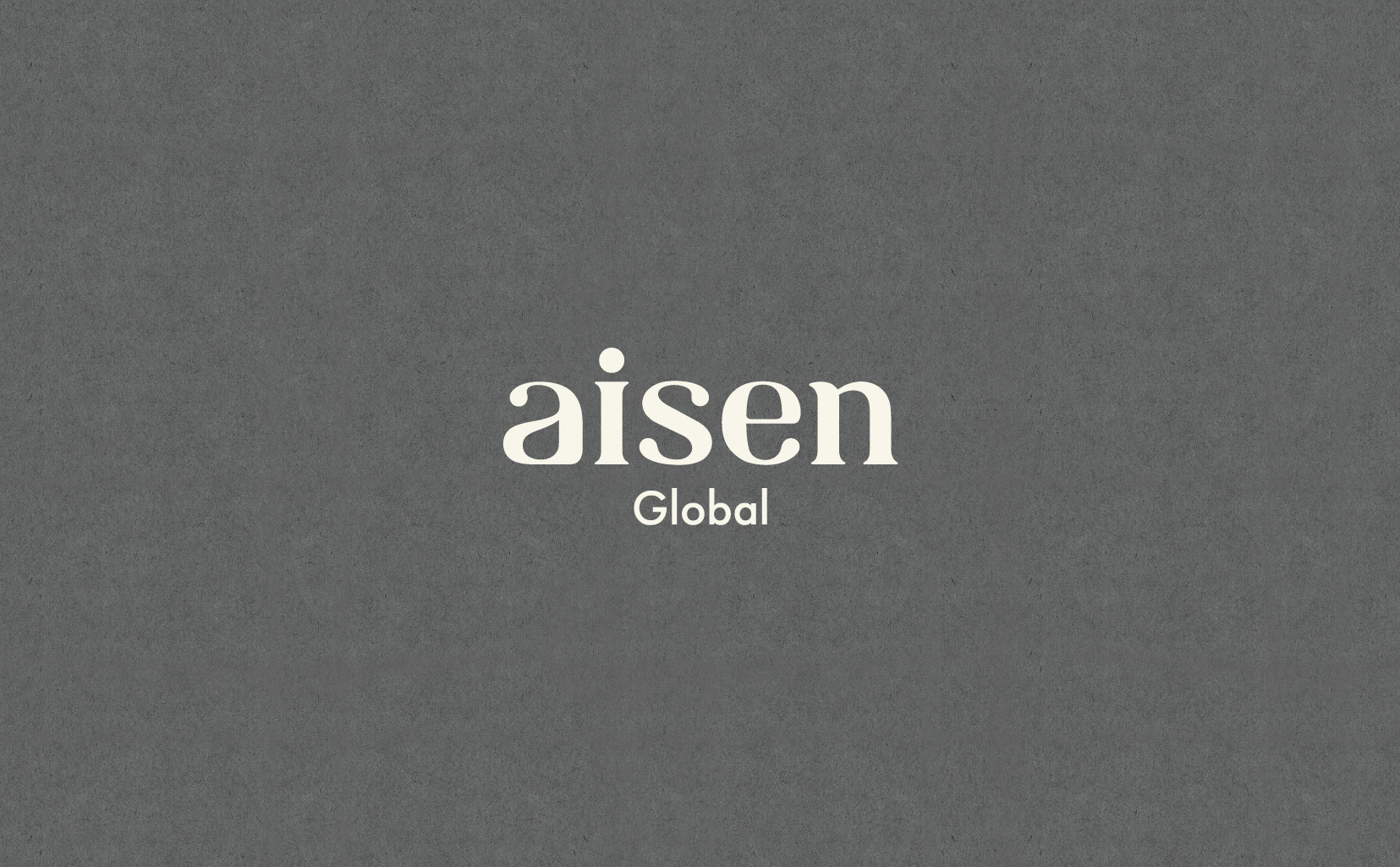 "Branding / Art Direciton of a new brand ""aisen global"" for Europe and America. (VI, promotion, Photography etc.)"