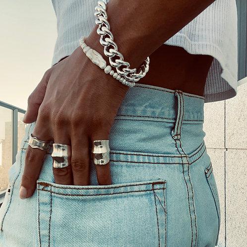 טבעת מיה כסף אמיתי