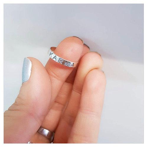 טבעת קרמה