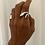 Thumbnail: טבעת עלה פתוחה