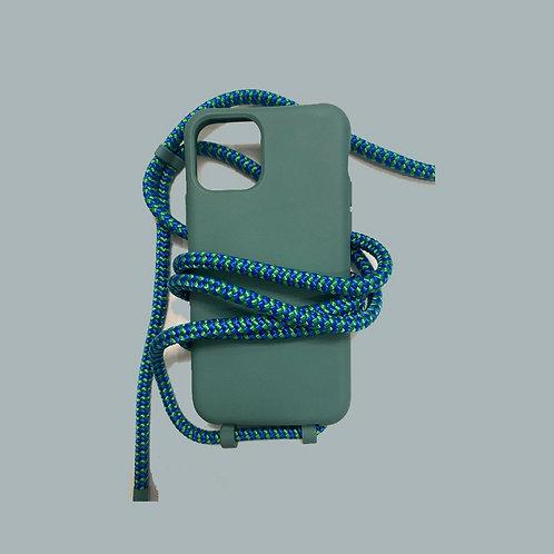 סט סמארטפון ירוק כחול