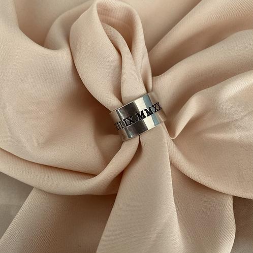 טבעת אישית ספרות רומיות