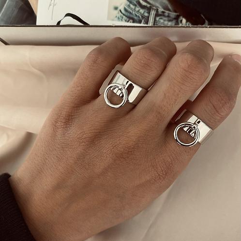 טבעת לולאה עבה