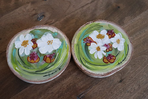 Fleurs C (2 pièces)