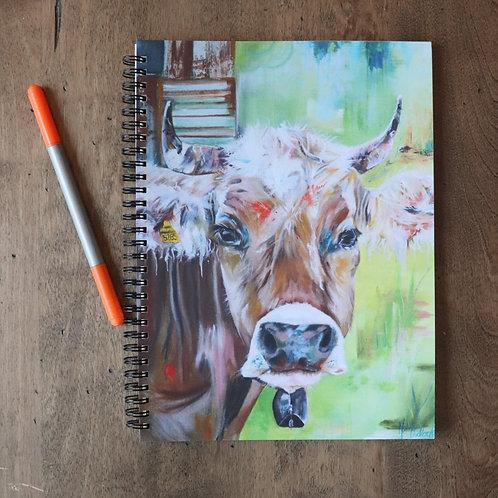 Cahier de notes ''La belle des champs''