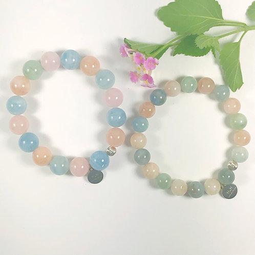 Mixed Beryls Bracelet