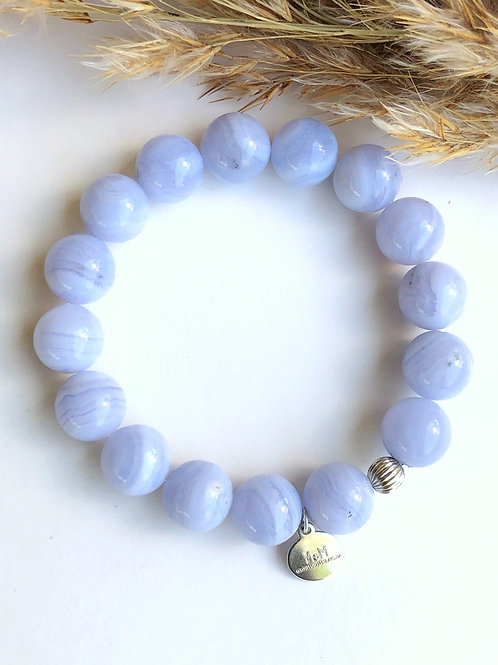 Blue lace Agate 12mm
