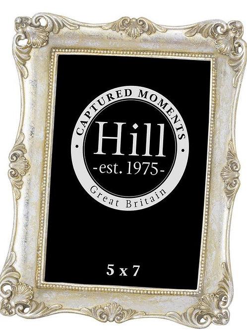 Antique Metallic Silver Decorative Photo Frame