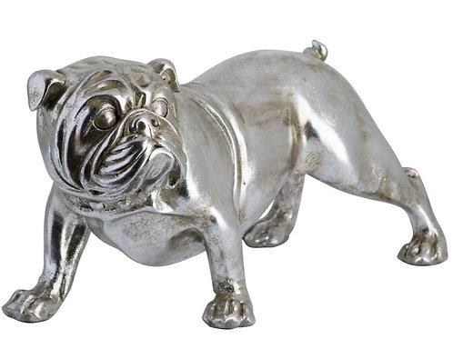 Accessories- (Antique Silver) Nardo The Bulldog Ornament