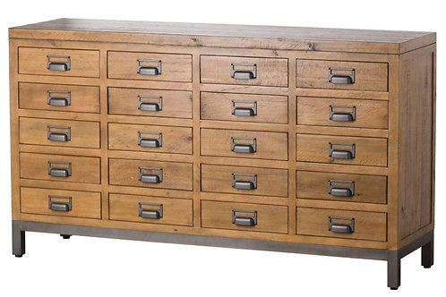 Bachelor Collection - 20 Drawer Merchant Chest
