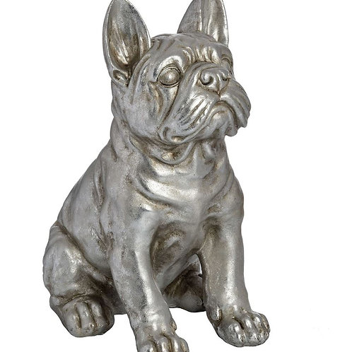 Accessories- (Antique Silver) Lucy The French Bull Dog