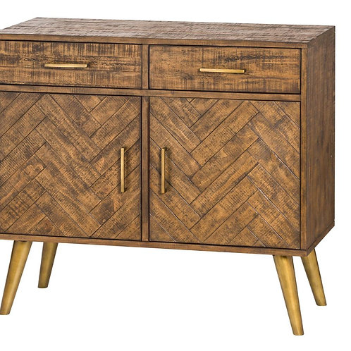 Havanna Gold Herringbone Sideboard