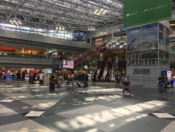 新千歳空港センタホール