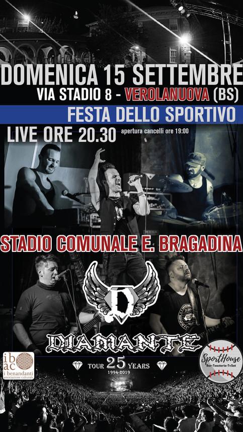 FESTA DELLO SPORTIVO 2019 Stadio E. Bragadina di Verolanuova (BS)