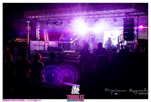 Diamante al Torboles Rock Festival 2019