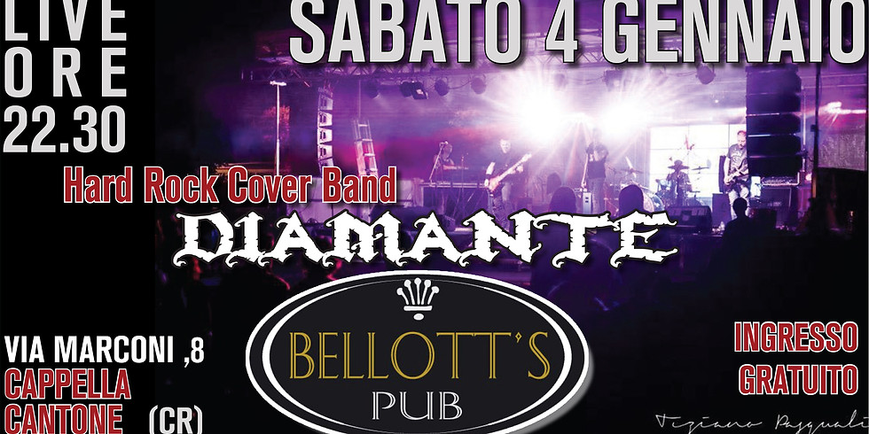 Diamante Hard Rock Cover Band @Bellott's Pub Cappella Cantone-CR