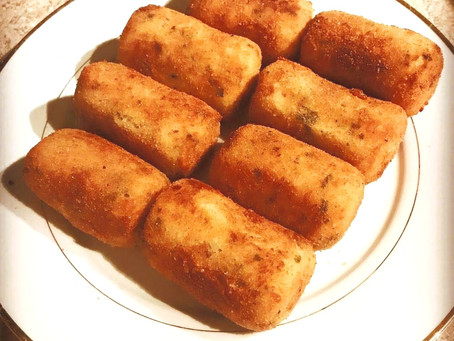 Croquetas...the epic fight with all of my cousins