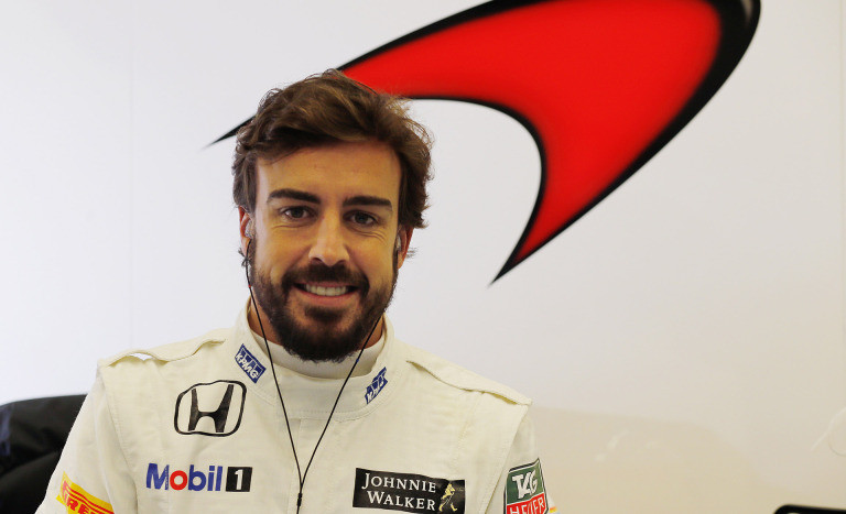 A smiling Fernando in 2015: little did he know the years of toil ahead.