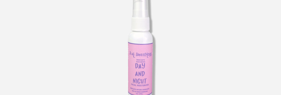 Day and Night Rose Water Moisturizer (2oz)