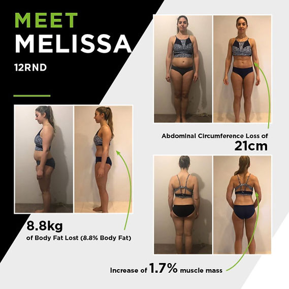 12RND Fitness Alexandria member weight loss results