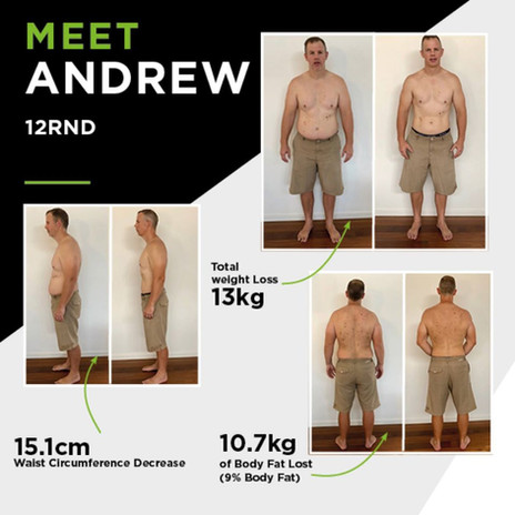 Training Camp Befor And After Andrew
