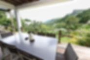 Mountain and Sea views at Coconut Climb, Seychelles.